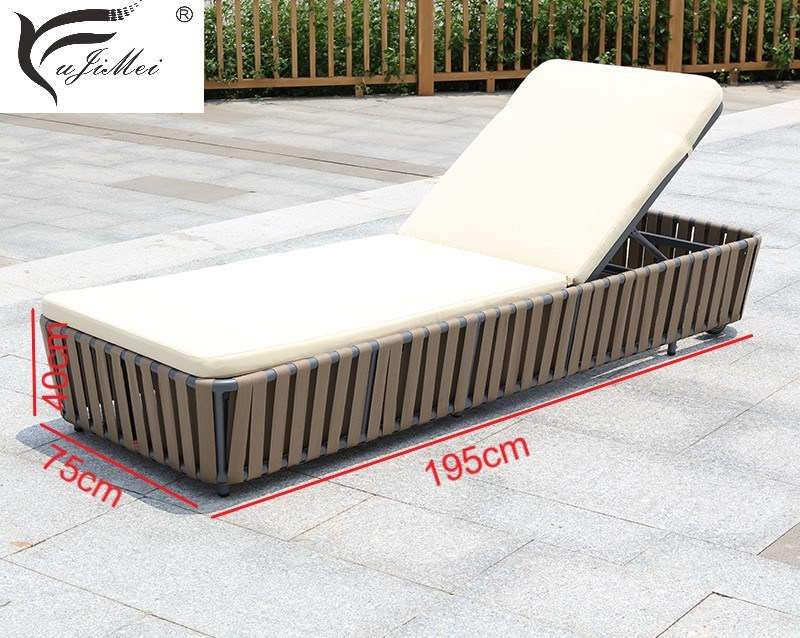Chaise Lounge Poolside Lounger Day Bed Garden Furniture Outdoor Furniture