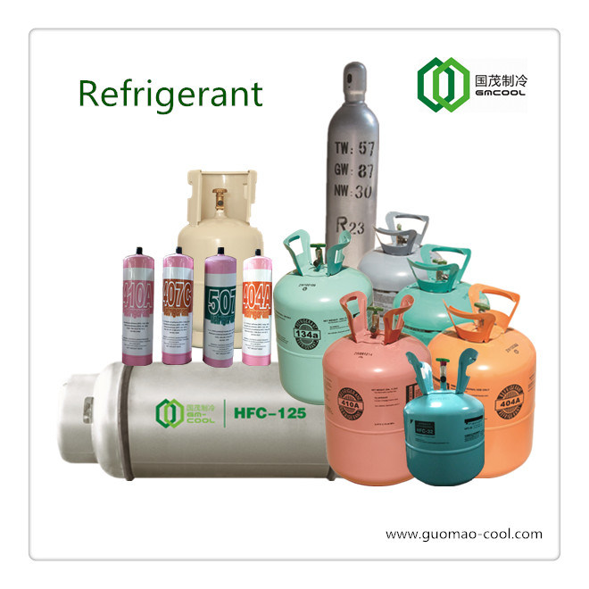 China Refrigerant R134A in DOT-39 Non-Refillable Steel Gas ...