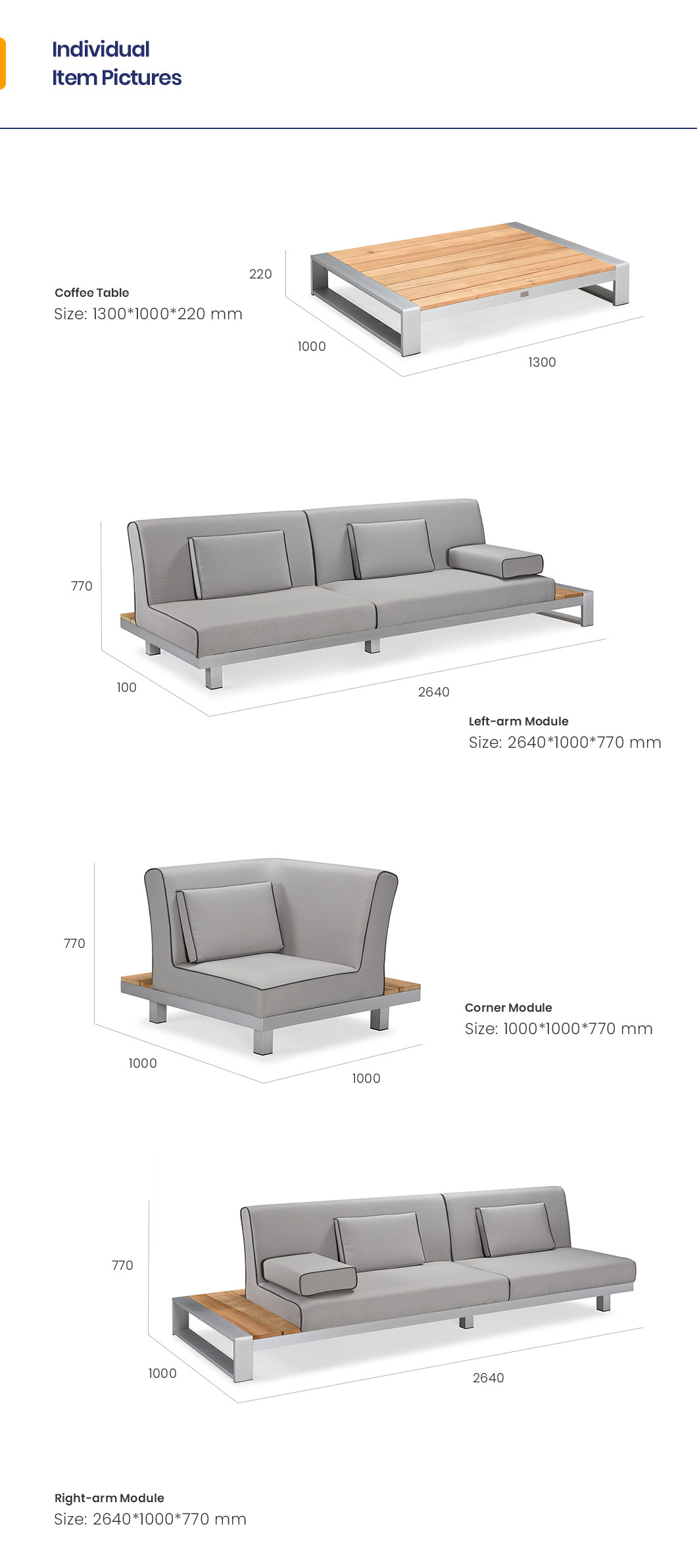 China Luxury Outdoor Furniture Designer