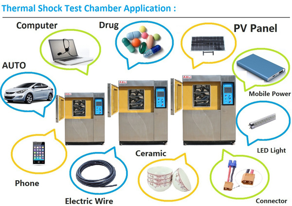 Programmable Heat Cold Impact Temperature Cycling Thermal Shock Testing Chamber