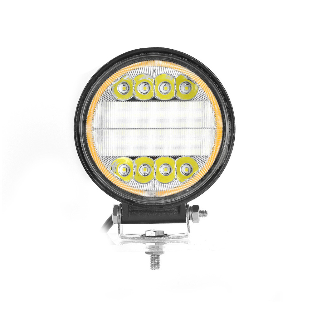 Offroad Auto Part RoHS Ce SAE DOT 40W LED Work Light with Amber DRL for Jeep UTV