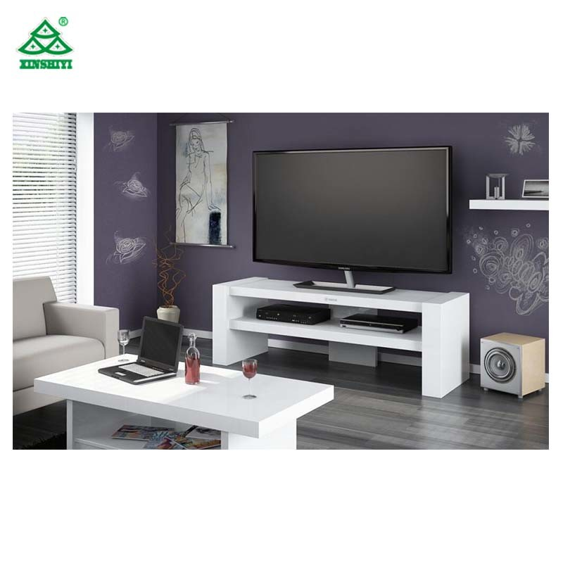 Simple Design Living Furniture Wood Tv