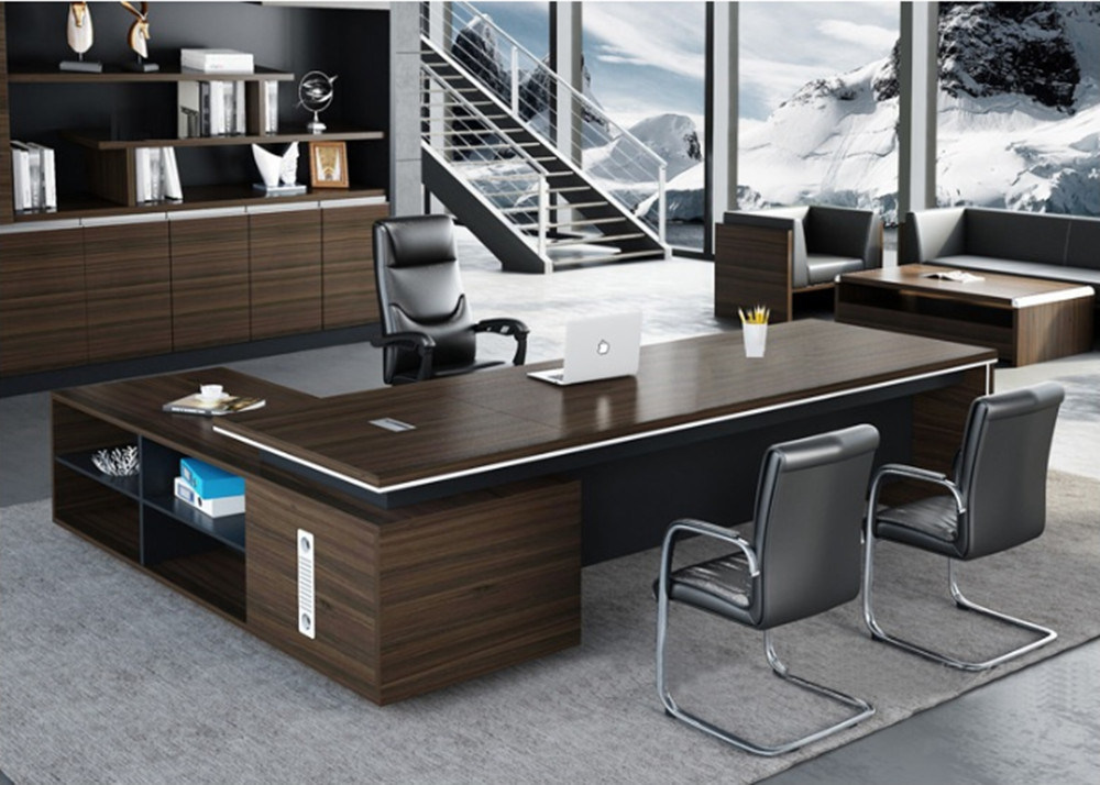 Modern Design Wooden Executive Desk