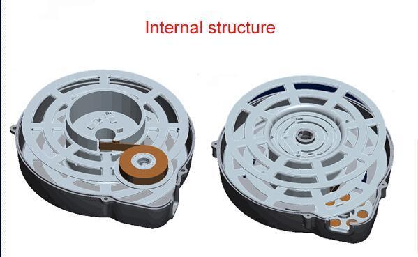 China Tangle Free Cord Retractor Retractable Power Cord