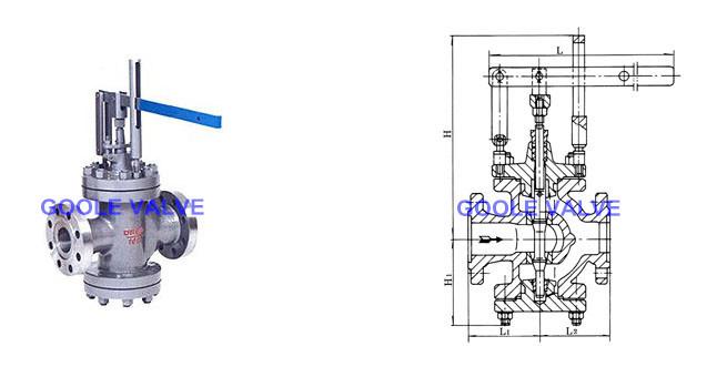 Level Type Steam Pressure Reducing Valve (GAY45Y)