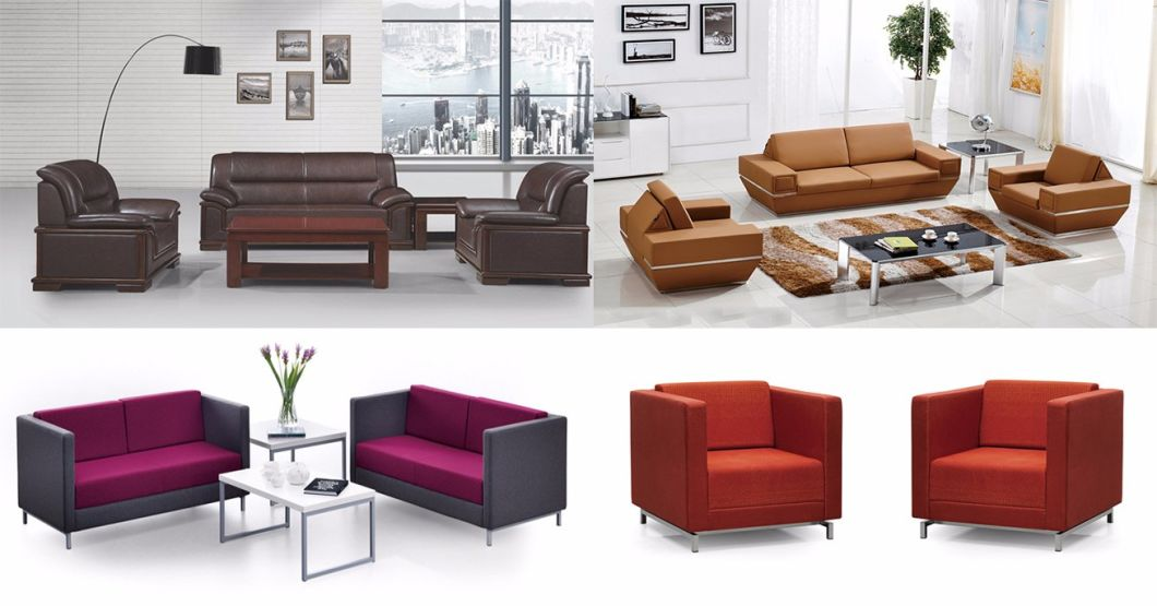 Executive Office Sofa With Stainless