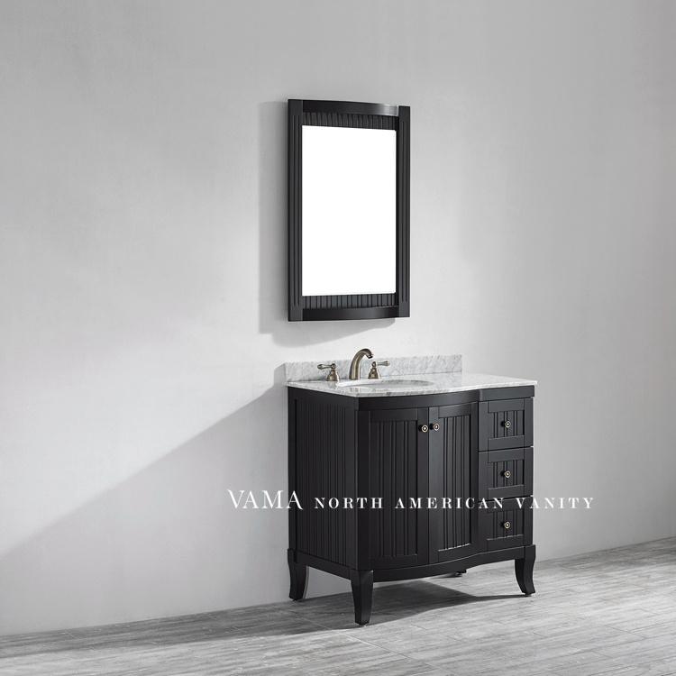 China Vama 36 Inch White Color Bathroom