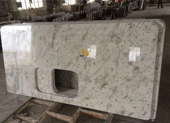 White Granite Countertop For Kitchen