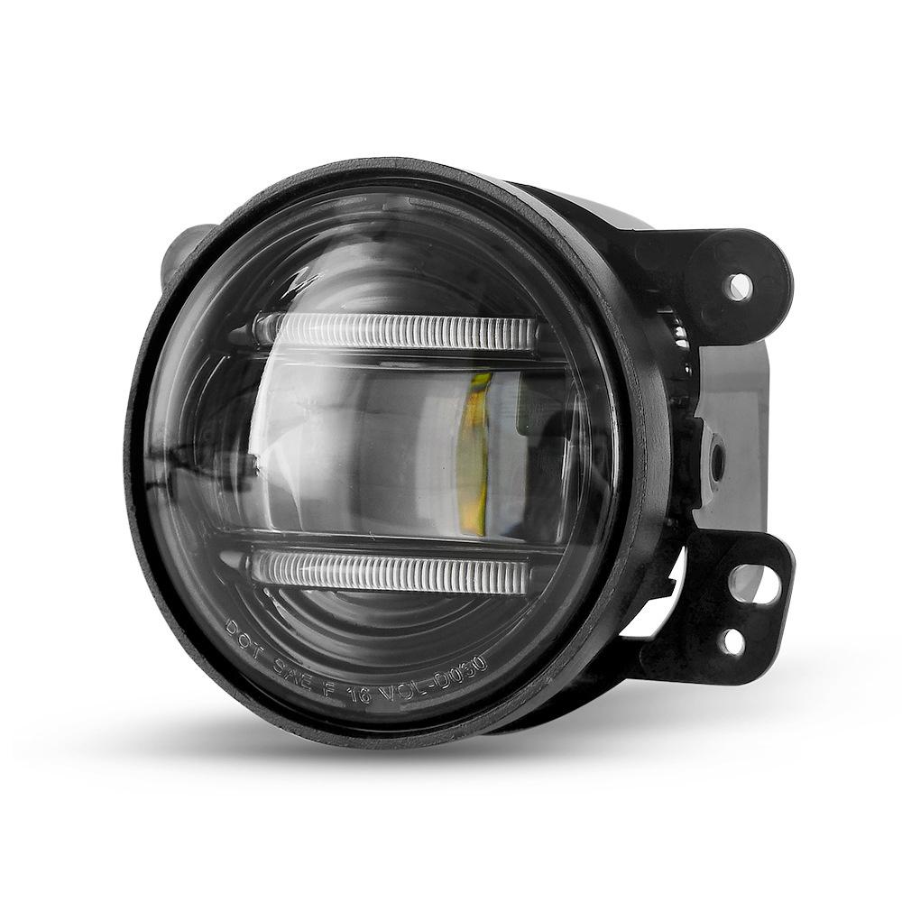 DOT SAE CREE Waterproof Round LED Fog Light Headlight IP69K for Jeep SUV