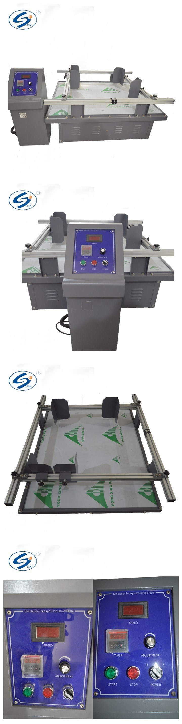 Carton Box Package Horizontal Vertical Simulation Transportation Vibration Test Machine