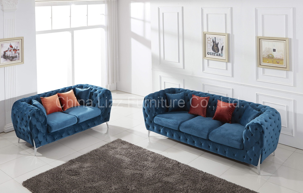 China Modern Home Furniture Velvet