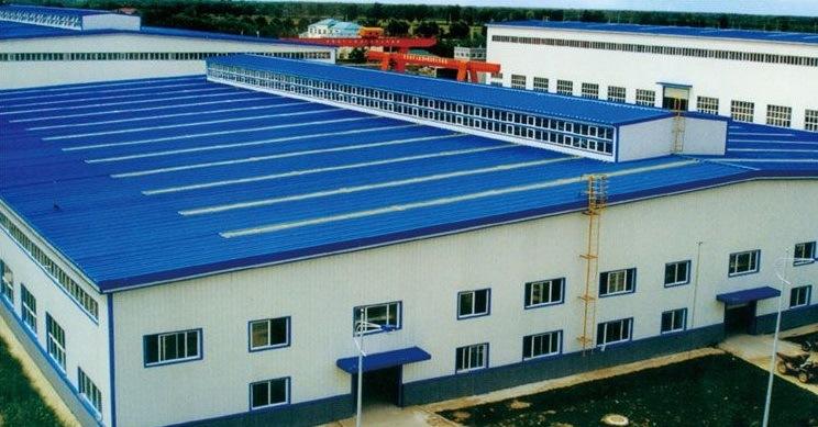 Steel Structure Frame Workshop Building Prefab Construction Turkey