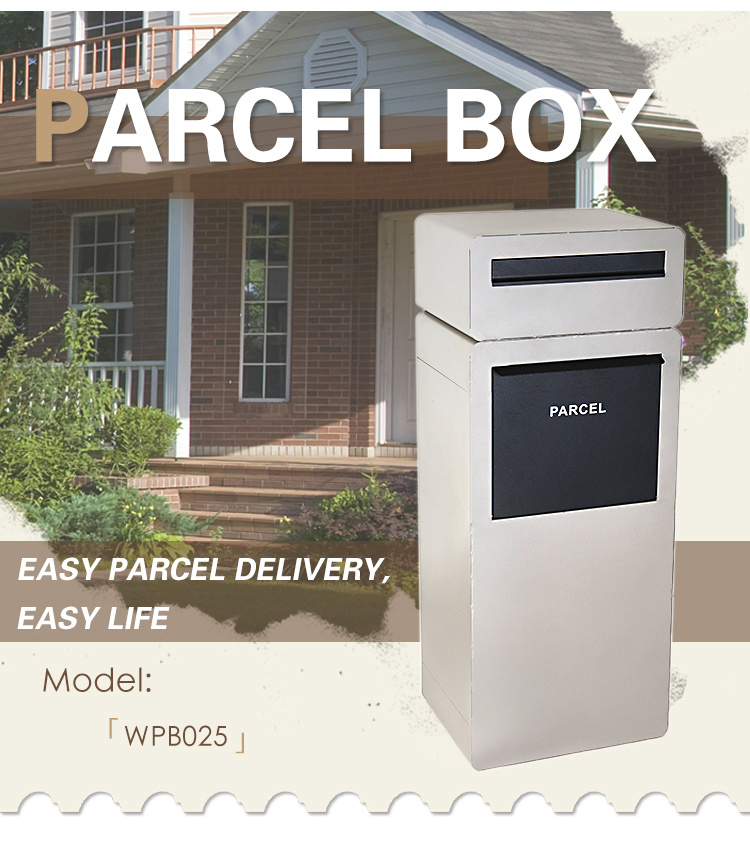 China Outdoor Waterproof Parcel Box, Outdoor Drop Box For Packages
