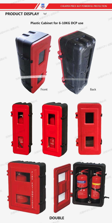 China High Quality Plastic Fire Extinguisher Box China