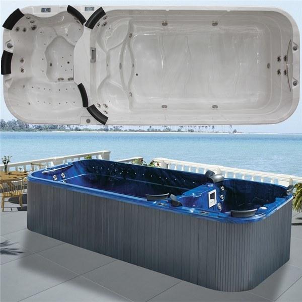 China Monalisa Separate Zone Swim Jacuzzi Spa Big Hot Tub