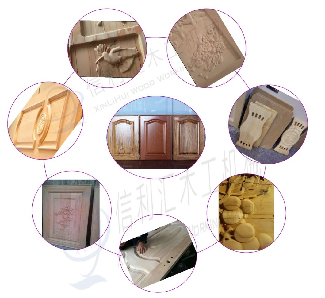 China Wire Brush Sanding Machine Lacquer Cabinet Wood