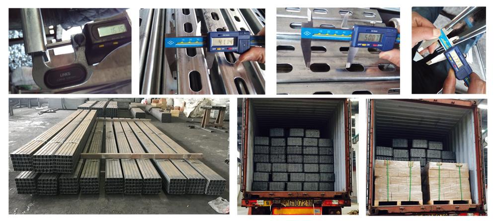 41 X 41 Pre- Galvanized Unistrut Steel Slotted Strut Channel
