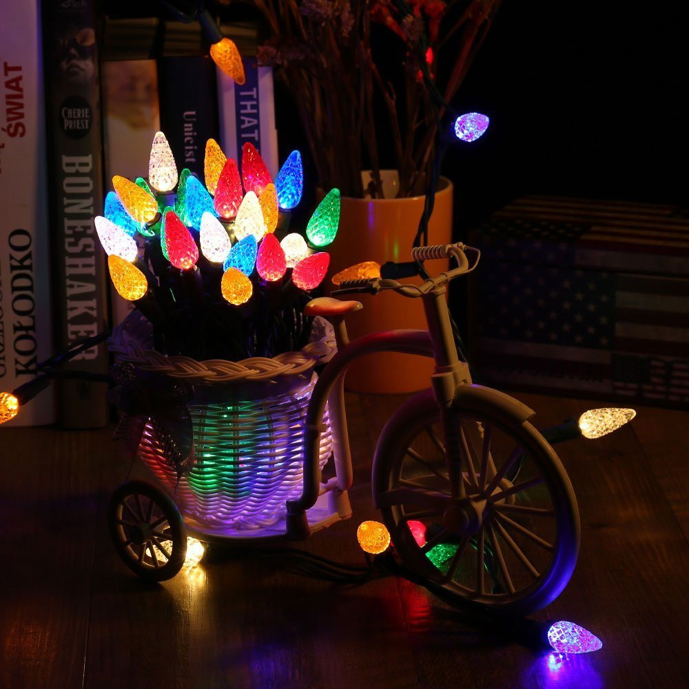 China Ul M5 C6 C7 C9 Led Fairy Decorative String Lights
