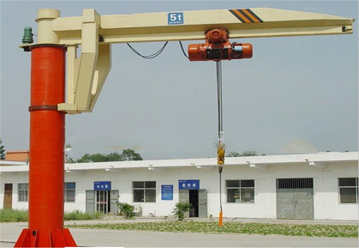 Bz Type Stand Column Jib Crane