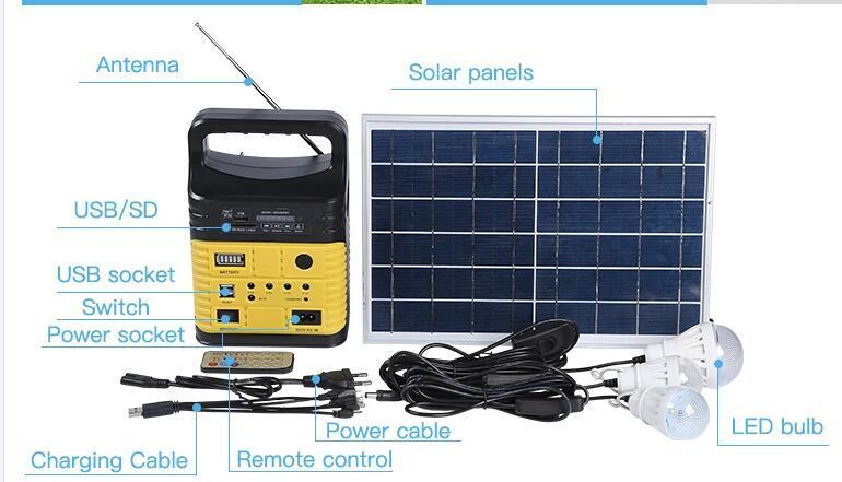 China Solar Lighting Home