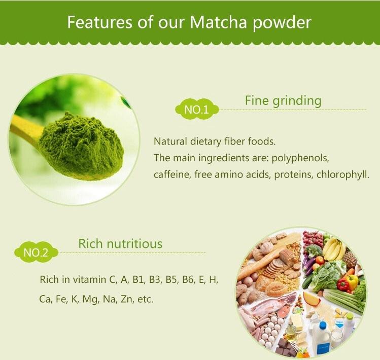 Food Attidives Hot Supply Private Label Matcha