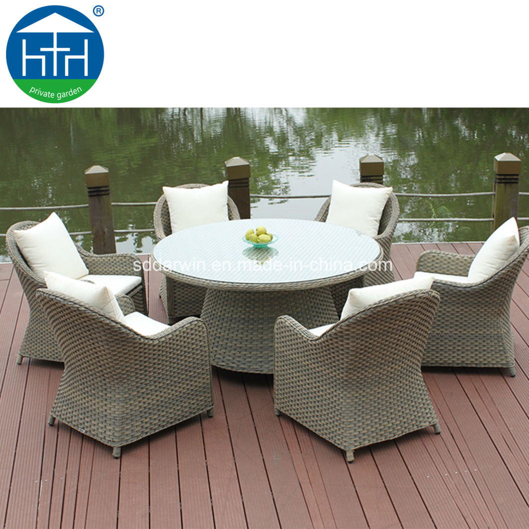 Outdoor Dining Set Rattan Wicker Table