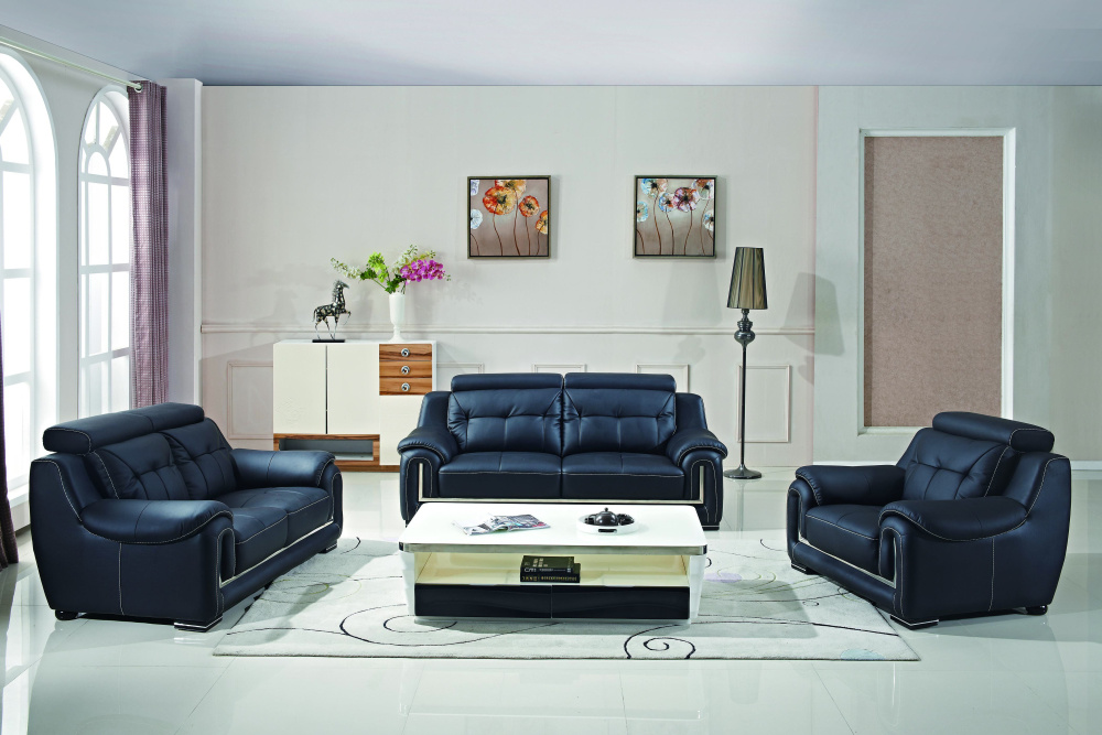 L Shape Sectional Leather Sofa