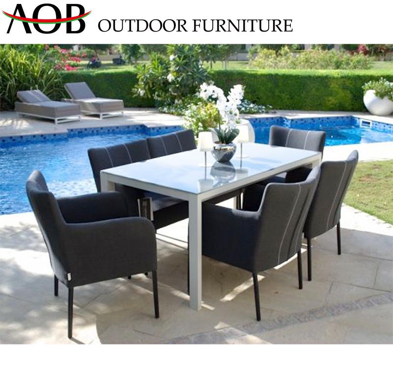 Customized Leisure Garden Furniture Sets Restaurant Fabric Dining Chair