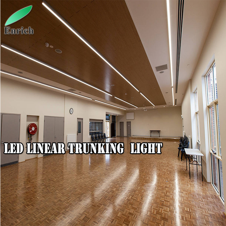 Led Linear Light Suspension Recessed