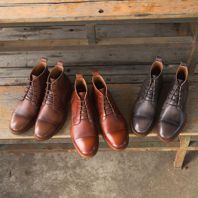 35c2b1b1ba55c Fashion Man Leather China OEM Brand Wholesale Shoe Lace up Cow Skin Men  Shoes Motorcycle Leather ...