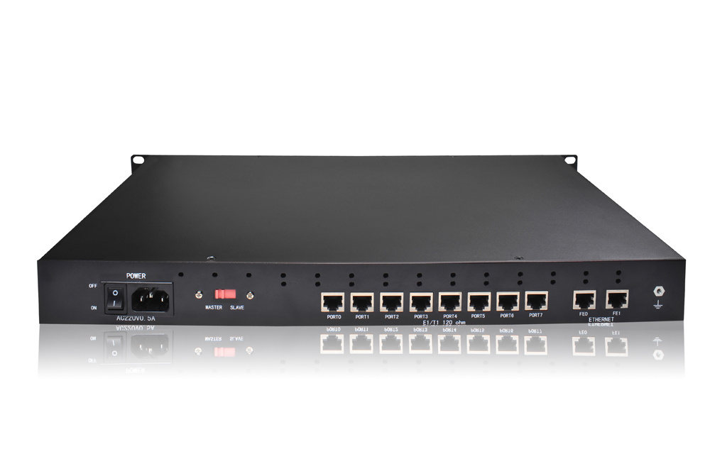 China E1/T1 VoIP Trunking Gateway Support SIP Trunk Media