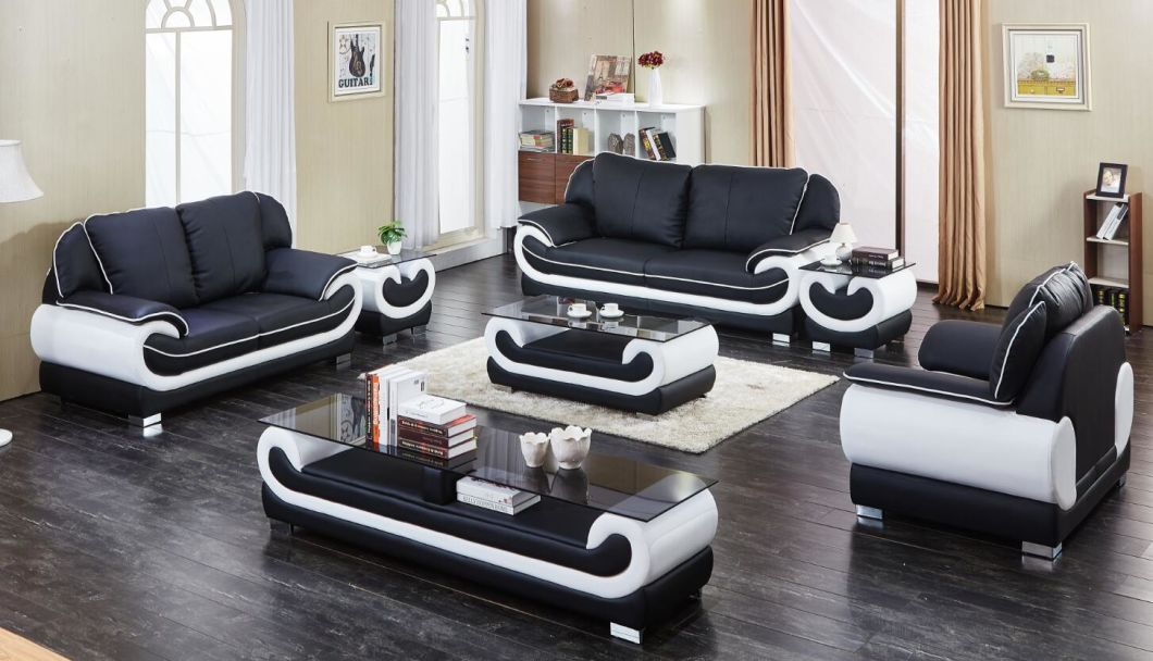 Hotel Sectional Leather Sofa