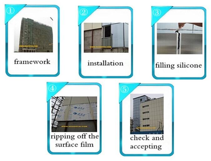 Colour Aluminium Composite Panel with Excellent PVDF Coating