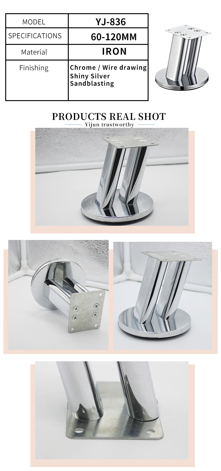 Contemporary Sofa Leg Replacement Metal