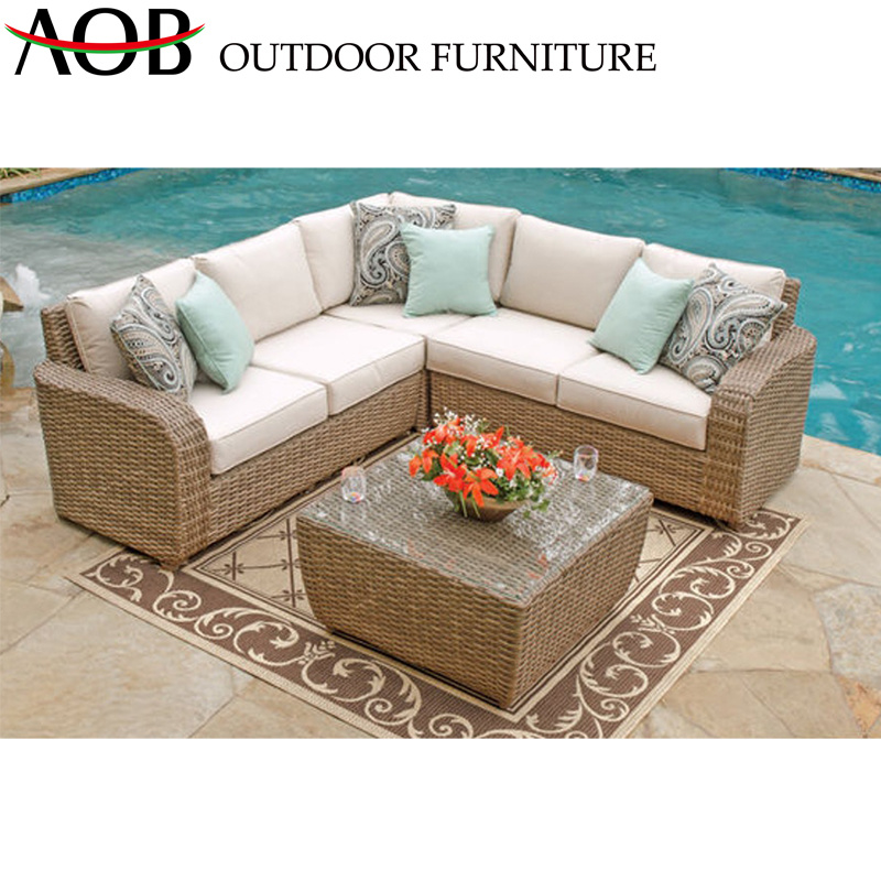 Amazing China Corner Sofa Sets Rattan Wicker Garden Furniture Outdoor Hotel Poolside Balcony Sofa Pabps2019 Chair Design Images Pabps2019Com