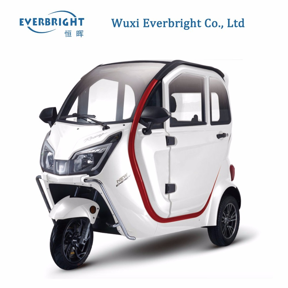 Full Closed Adult Using Electric Passenger Tricycle with Cabin