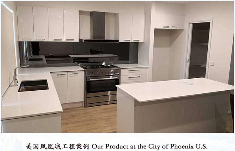 China Modular Pantry Cupboard UV Sheet MDF Board Kitchen ...