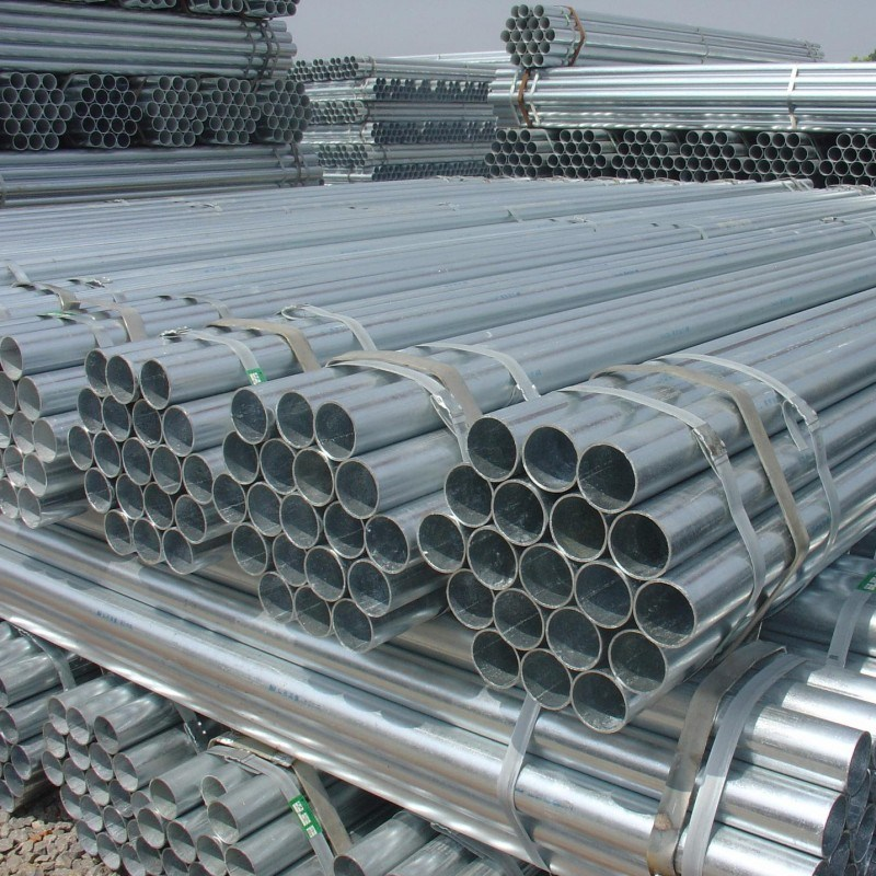 Hot DIP-Zinc Coating Steel Pipe, Gi Pipe, Galvanized Steel Tube
