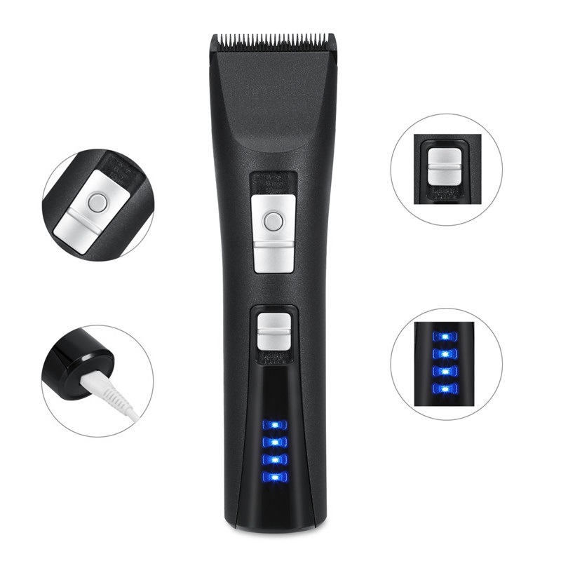 High Quality Fine Adjustment Long-Lasting Battery Rechargeable LED Hair Clipper