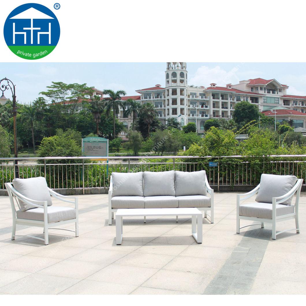 Dw-Sf1908 Hot Sale Aluminum f<em></em>rame Leisure Sofa Set Outdoor Furniture