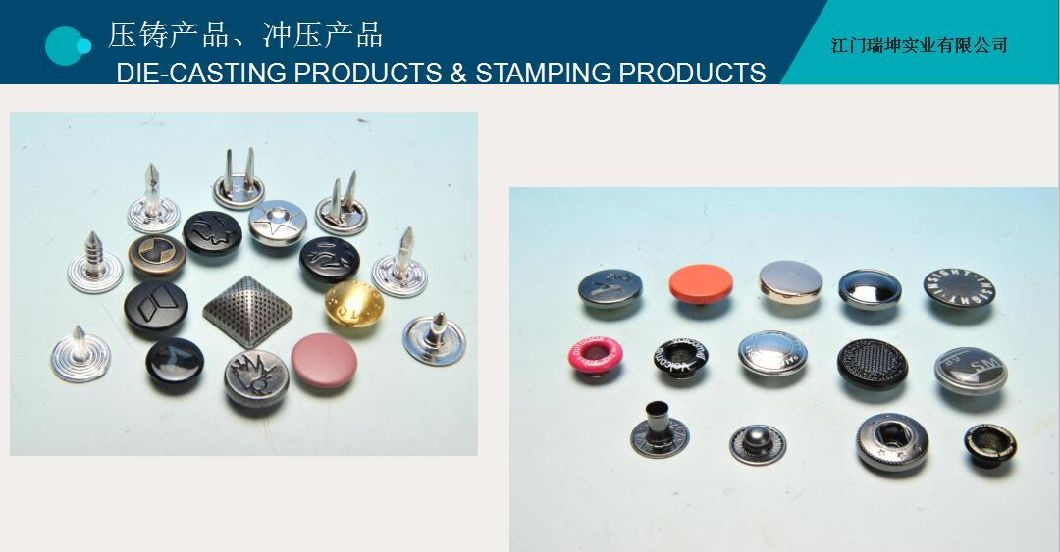 Factory Supplier Fashion Four Part Snap Button