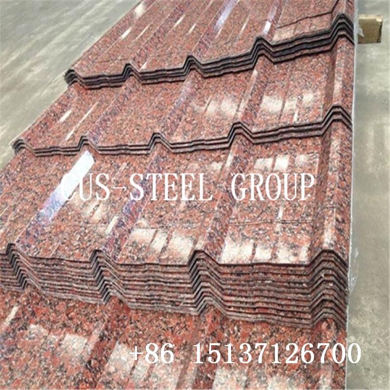 China 0 12 0 60mm Inverted Box Profiled Rib Roofing Sheet