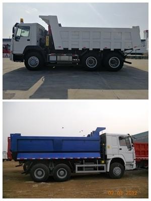 Sinotruk Yellow 371HP Euro2 20 Cubic HOWO Dump Truck