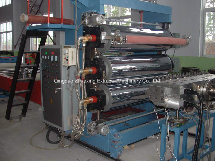 Stone-Plastic Floor PVC Imitation Marble Board Extrusion Line