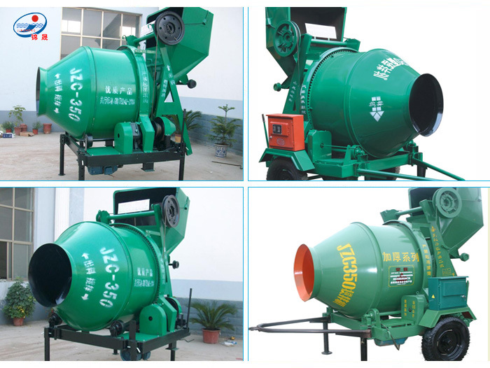 Hot Sale High Capacity Concrete Mixer Machine with Lift Price