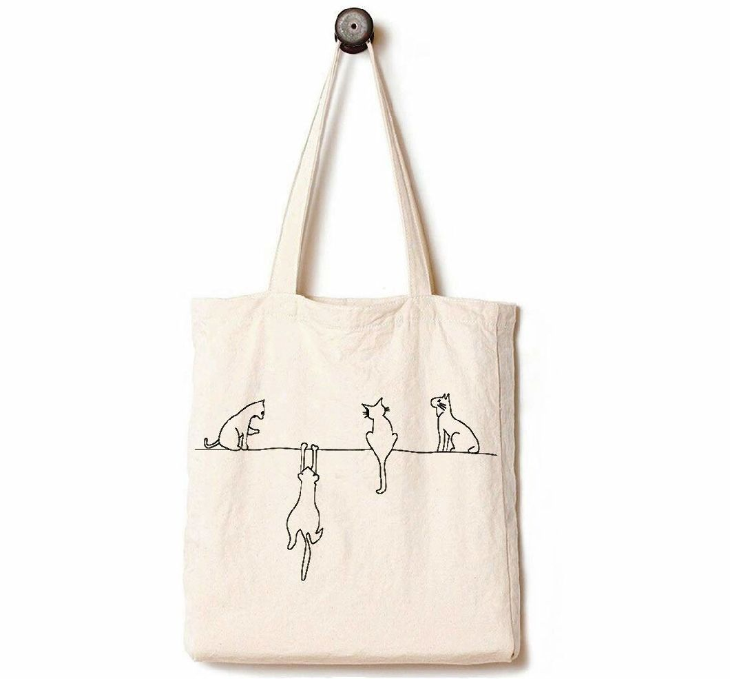 China Canvas Bag Tote Ping