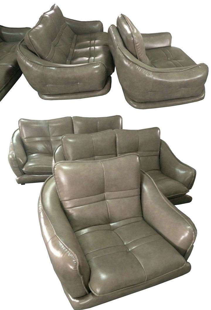 White Modern Design Leather Sofa, Factory Price Good Quality (621)