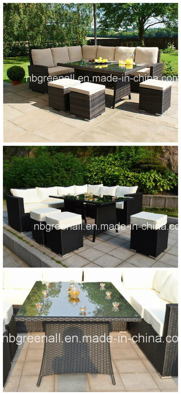 China 9 Seater Corner Sofa Dining Set