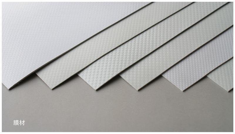 Free Sample PTFE Coat Fabric Membrane High Tension PTFE Architecture Membrane