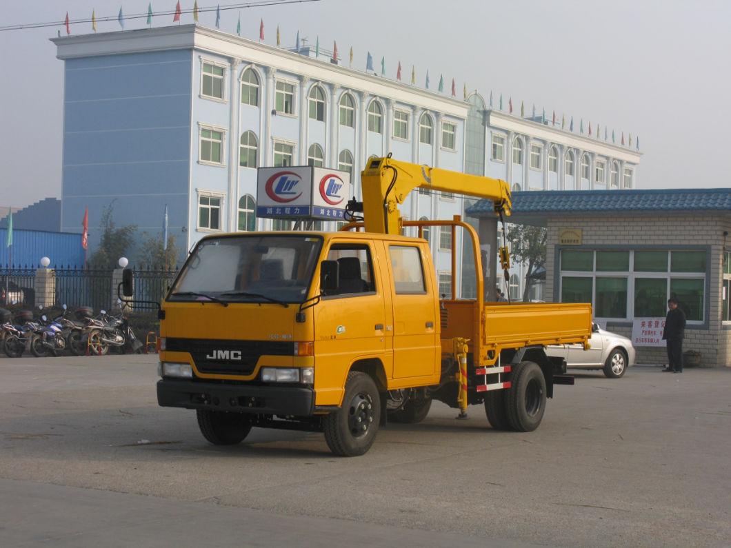 China Wholesale Hydraulic Mobile Crane Lift Crane Mounted Truck Mini Truck Mounted Crane